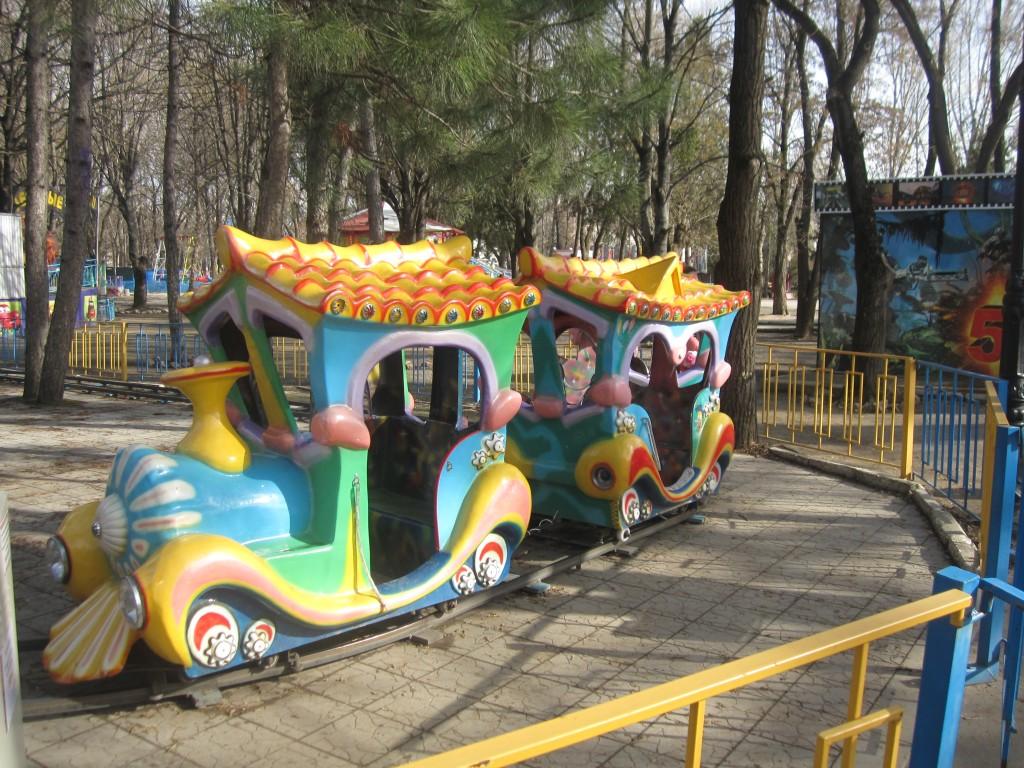 Детский парк в Симферполе