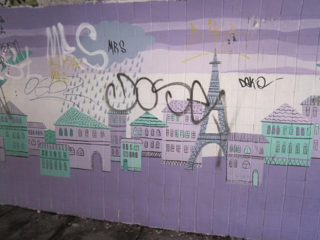 Морская картина на улице Шмидта