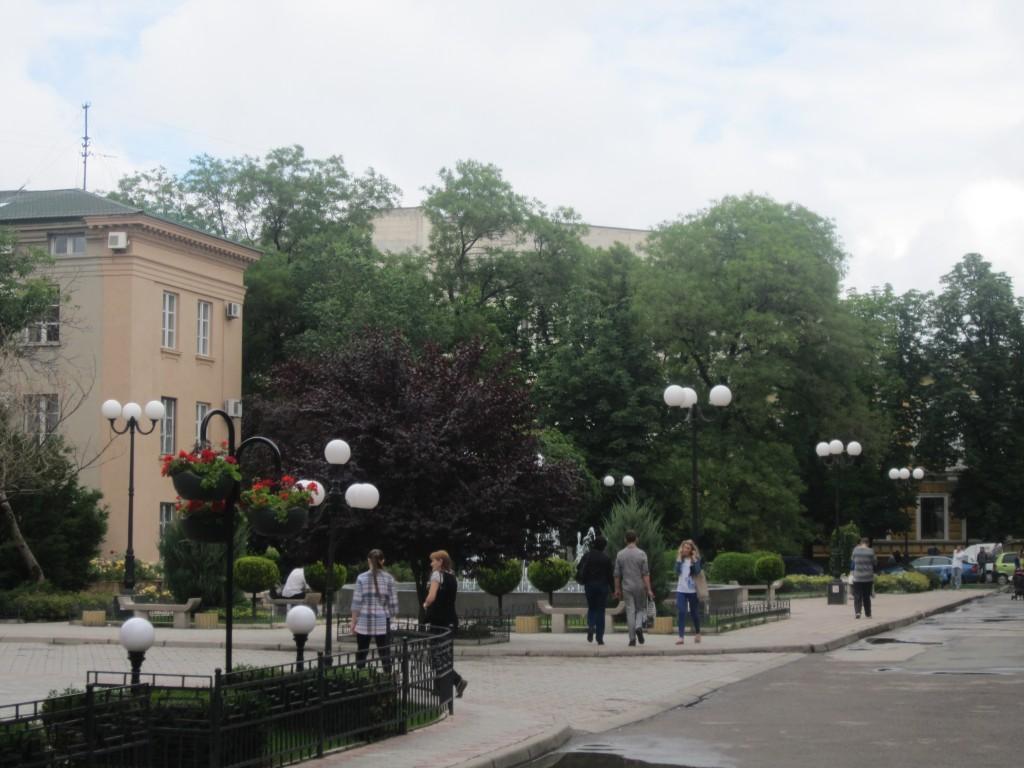 Сквер у Приватбанка