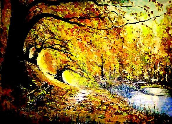 В парке- осень