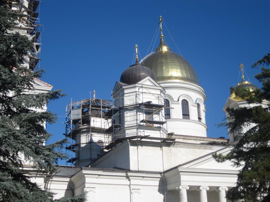 Недостроенный собор в Симферополе