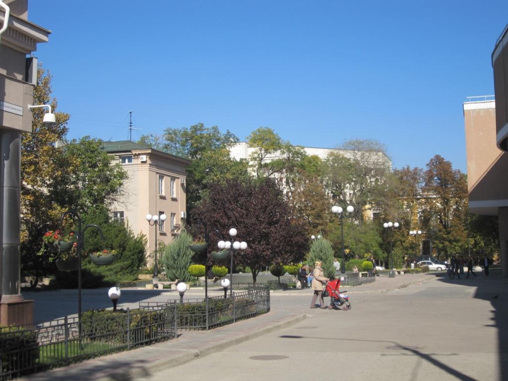 Симферополь в октябре