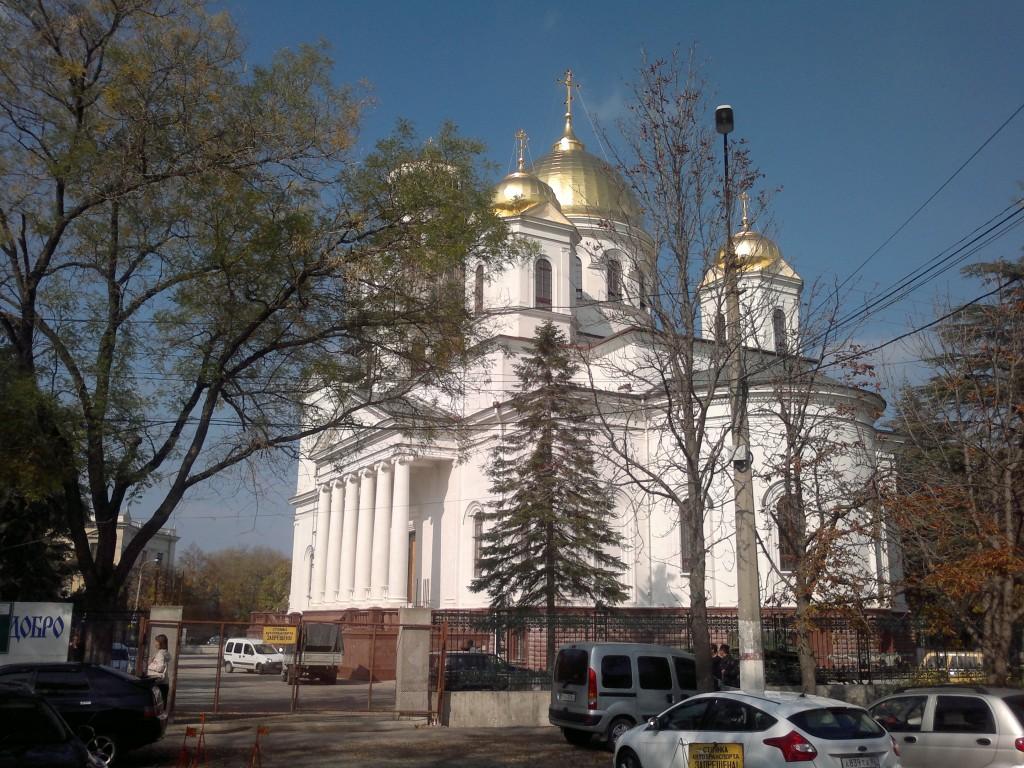 Храм Александра Невского в Симферополе