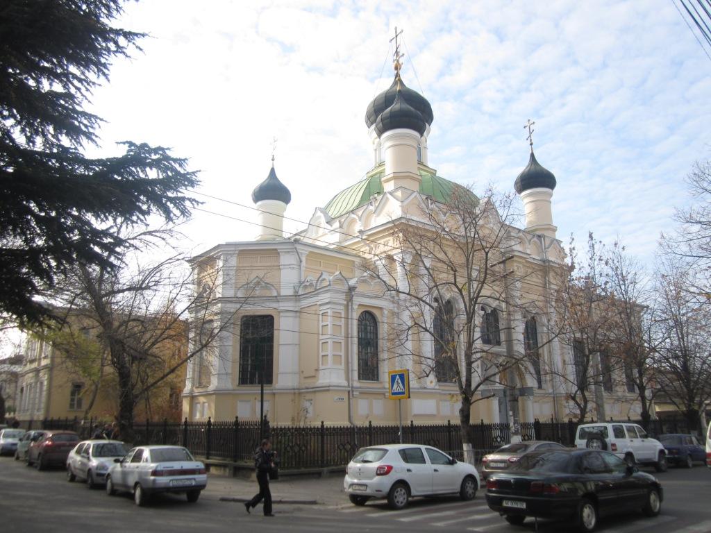 Храм Трех Святителей в Симферополе