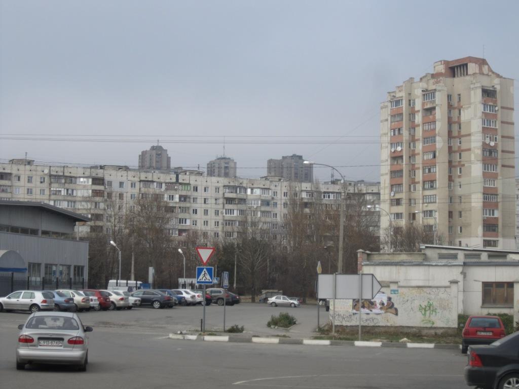 Район улицы Маршала Жукова