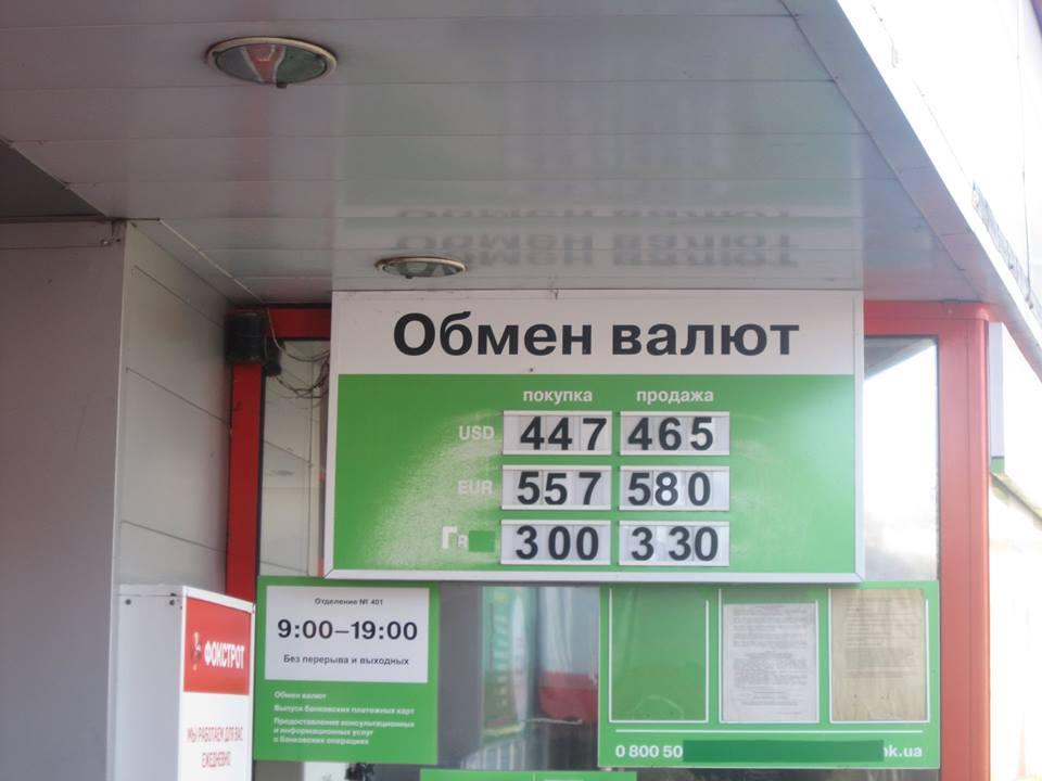 Курс валют в Симферополе 6 ноября 2014
