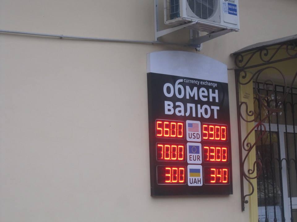 Курс валют в Симферополе 12 декабря 2014