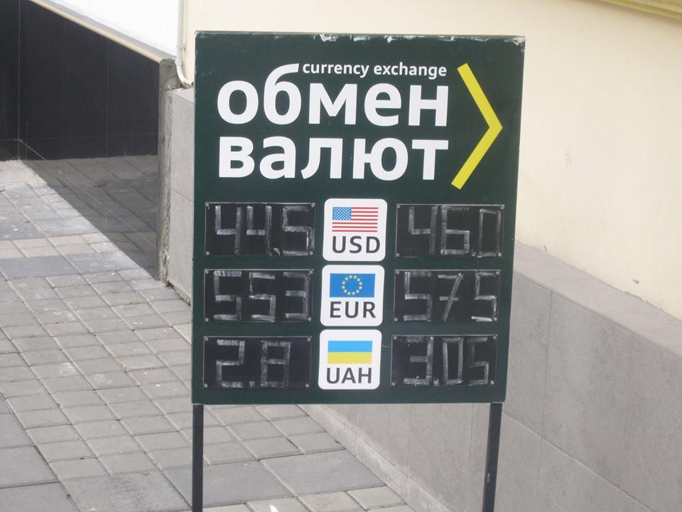 Курс валют в Симферополе 25 ноября 2014