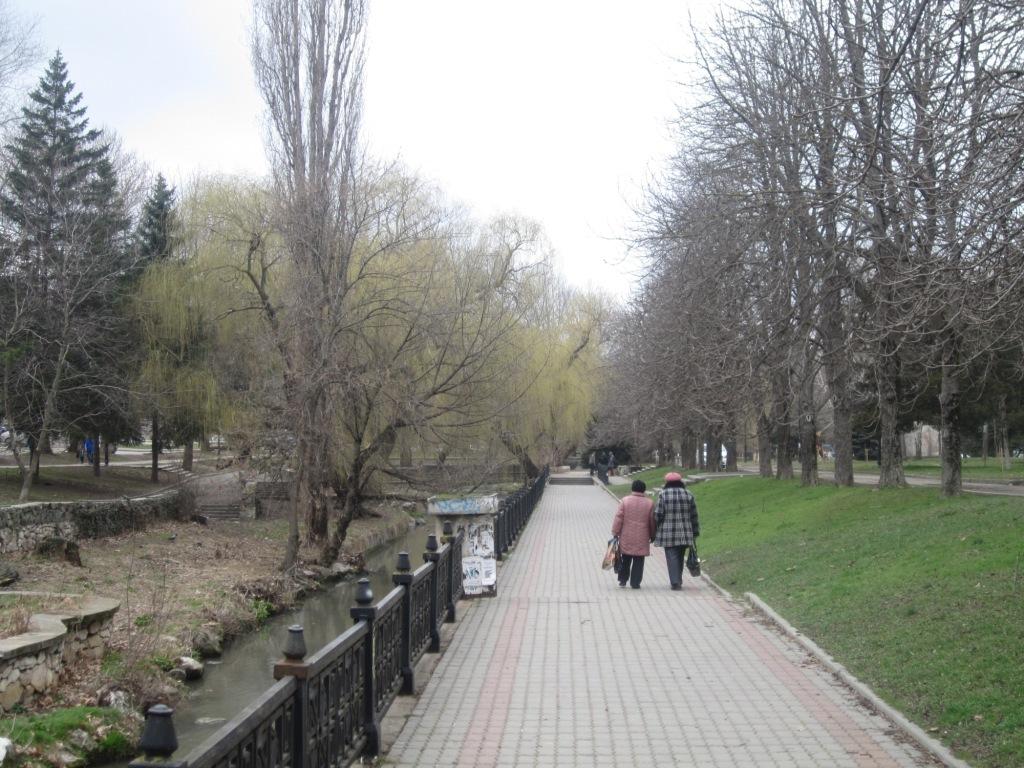 Набережная Салгира Симферополь