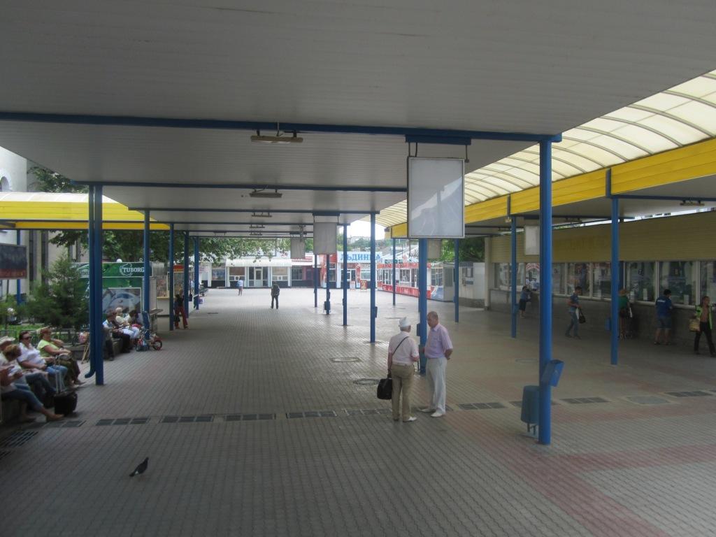 Пригородные кассы вокзала Симферополя