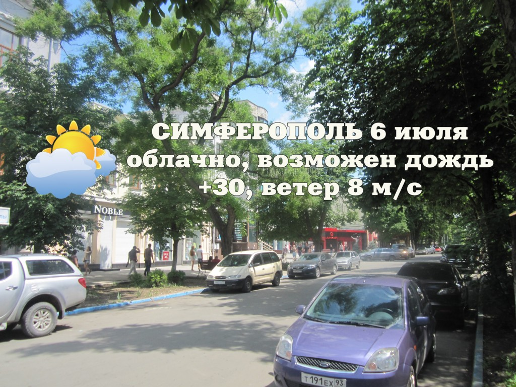 Погода 6 июля