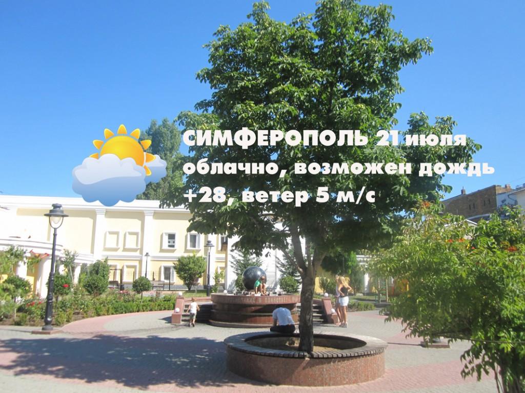 Погода 21 июля
