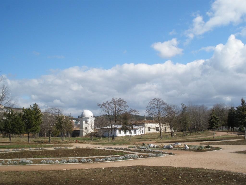 Усадьба Палласа в парке Салгирка