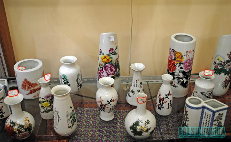 Более мелкие вазы