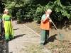 В Симферополе наконец-то начали уборку набережной(фото)