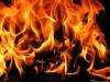 В Симферополе посреди улицы загорелось авто(видео)