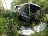 В Крыму автобус свалился в кювет(фото)