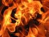 В степном Крыму начался большой пожар
