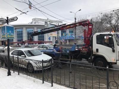 В Крыму повысились цены на вывоз авто на штрафплощадку