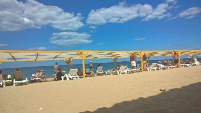 Севастопольский парк на пляже откроют в октябре