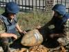 В центре Севастополя откопали большую бомбу