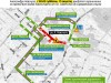 Схема объезда перекрытого на два месяца центра Симферополя(фото)