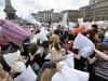 В Петербурге арестовали мобберов за бой подушками
