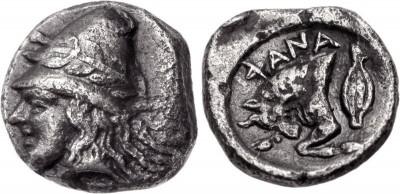 Найдены редкие монеты Боспорского царства (фото из интернета)