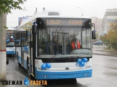 В Симферополе нельзя будет купить билет на троллейбус у водителя