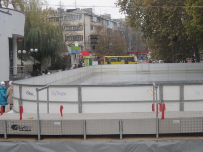 Открытие катка в Симферополе перенесли из-за жары