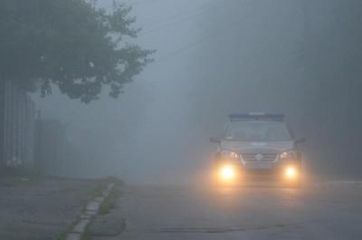 В Крыму туман и гололед (фото из интернета)