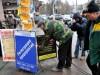 В центре столицы Крыма снесли два десятка стопперов(фото)