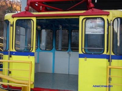 В Крыму закрыли канатную дорогу