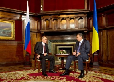 Путин и Янукович поговорят о ТС