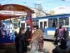 В Симферополе открыли первую арт-остановку(фото)