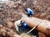Ведется реконструкция водовода в Приморском
