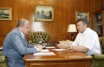 Янукович раздал указания Могилеву