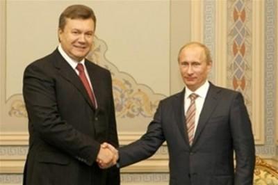 Путина с Януковичем встретят в Севастополе