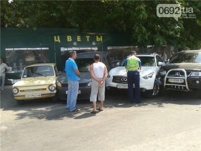 В Севастополе появилась сверхплотная парковка