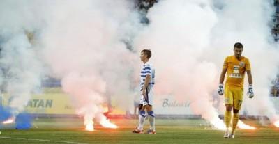 Севастопольские футболисты не поняли поведения фанатов