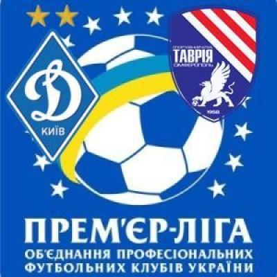 Таврия проигрывает Динамо в Киеве