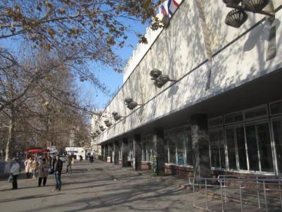 Здание Главпочтамта в Симферополе