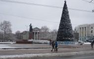 Площадь Ленина в Симферополе