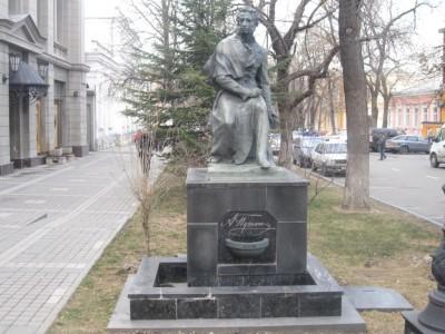 Памятник Пушкину в Симферополе