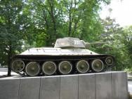 Сквер Победы (Танк Т-34)