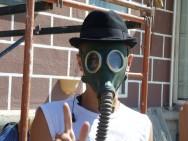 Флешмоб в Симферополе против курения
